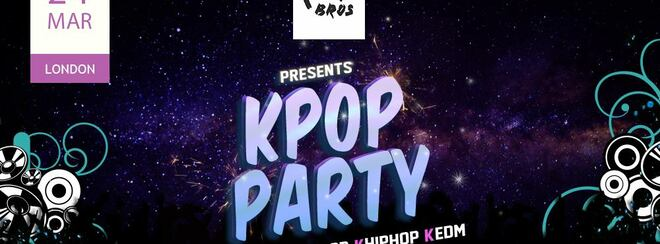 K-pop & K-hiphop party Young Bros in London party