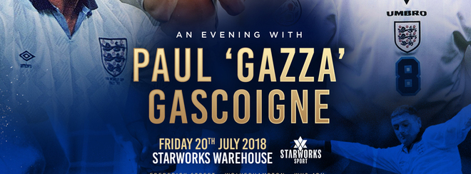 "An Evening With Paul ""Gazza"" Gascoigne"