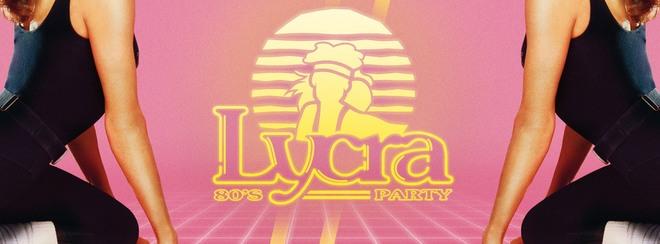 Lycra 80's Dance Party