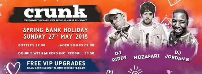 CRUNK Bank holiday Sunday @ Tiger Cardiff