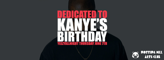 Dedicated To Kanye & Team Kanye Daily Present: Ye' Birthday Party 2018 #YeezyAllNight