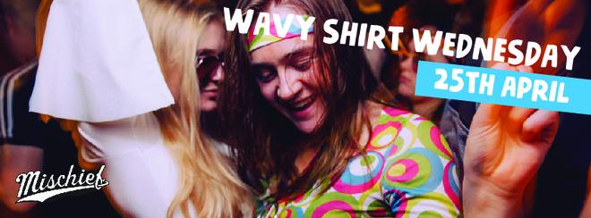 Mischief | Wavy Shirt Wednesday