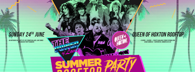 The Power Of Love – 80's Rooftop Party