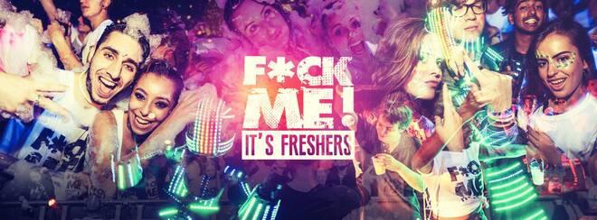 F*CK ME IT'S FRESHERS // HUDDERSFIELD