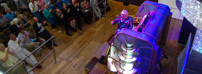Wurlitzer Organ Recital with Phil Kelsall MBE