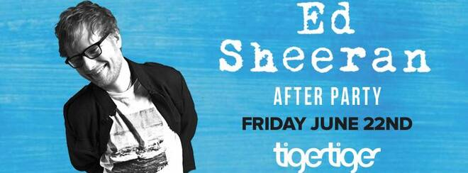 TIC TOC Fridays Presents Ed Sheeran after party