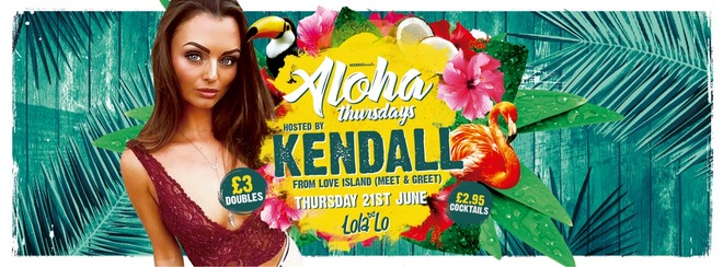 Aloha Hosted By Love Island's Kendall!