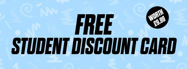 FREE Student Discount Card - Worth £9.99!