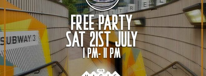 Rave Culture - Free Summer Open Air Day Party