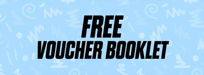 FREE Voucher Booklet!
