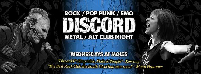 Discord - Rock, Pop Punk, Emo & Metal Anthems!