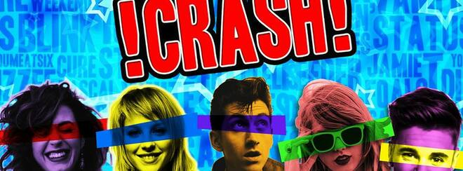 !CRASH! - The Noughties Smash-Up! 2-4-1 Drinks & £2 Entry!