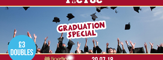 TIC TOC Fridays // Graduation Special