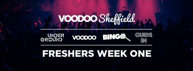Voodoo Sheffield Freshers Week One Ticket