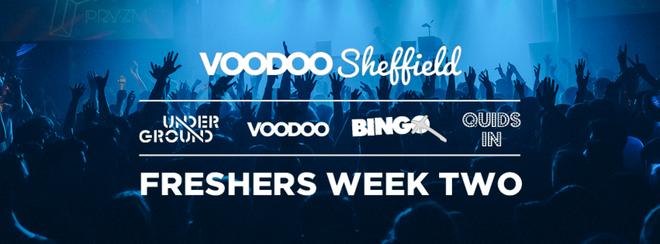 Voodoo Sheffield Freshers Week Two