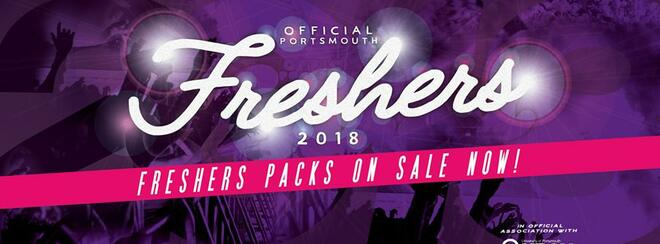 Portsmouth Uni Freshers Pack 2018 – Including Freshers Ball