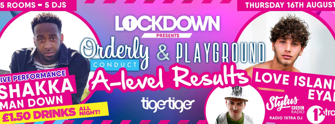 Lockdown Presents - A Level Results