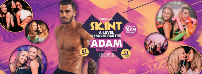 Skint A-Level Results - Hosted by Adam from Love Island