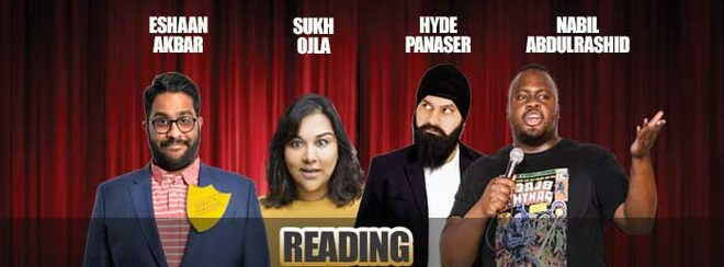 Desi Central Comedy Tour : Reading