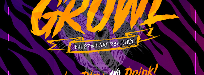 TIGER TOURS PRESENTS GROWL