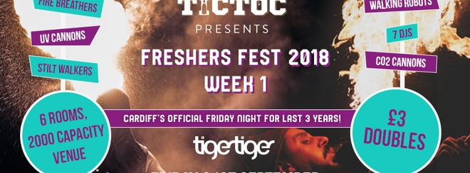 TIC TOC Presents Freshers Fest