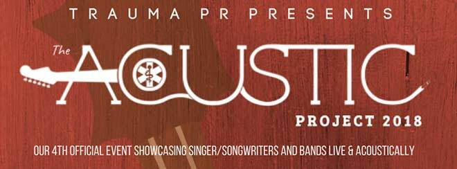 Trauma PR Presents: The Acoustic Project 2018
