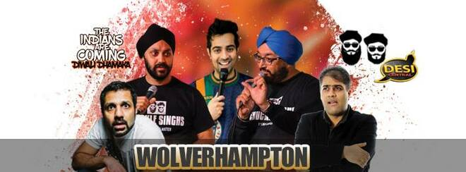 The Indians Are Coming – Diwali Dhamaka : Wolverhampton