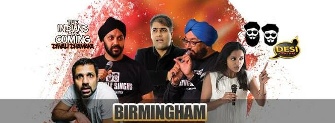 The Indians Are Coming – Diwali Dhamaka : Birmingham
