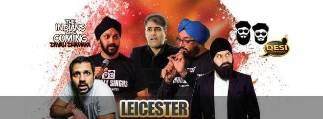 The Indians Are Coming – Diwali Dhamaka : Leicester
