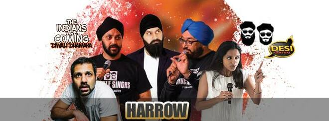 The Indians Are Coming – Diwali Dhamaka : Harrow
