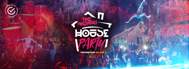 THE FRESHERS HOUSE PARTY // CARDIFF