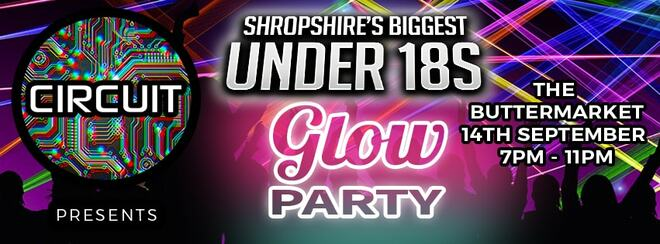Shropshire's Biggest Under 18s – Glow Party