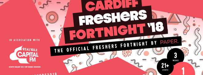 Official Cardiff Freshers Fortnight 2018