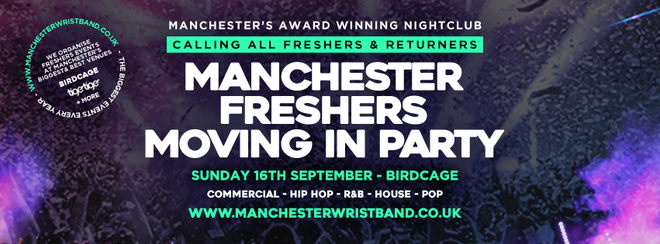 THE FRESHERS MOVING IN PARTY 2018 // MANCHESTER