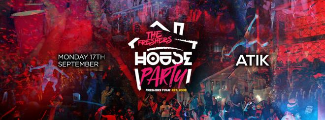 THE FRESHERS HOUSE PARTY // UXBRIDGE (BRUNEL)