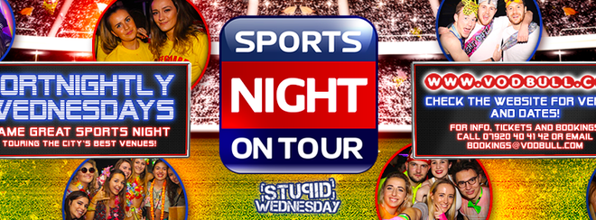 Sports Night On Tour's Big One at The Nightingale