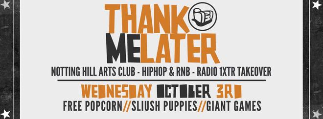 Thank Me Later Freshers 2nd Edition – HipHop n R&B | BBC Radio 1Xtra Takeover