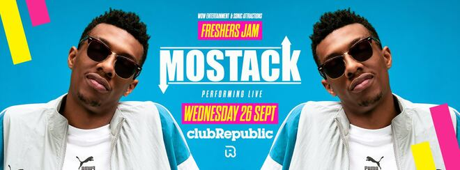 Freshers Jam with MOSTACK at Club Republic