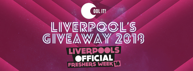 Cool It Freshers Giveaway 2018 Entry Raffle Ticket