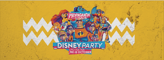 Propaganda Bath – Disney Party!