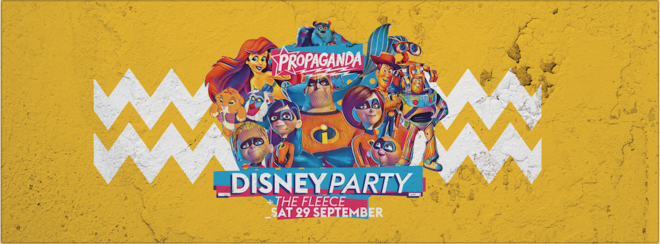 Propaganda Bristol – Disney Party!