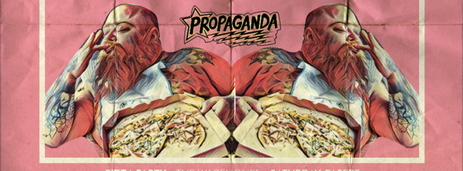 Propaganda Leeds – Pizza Party!