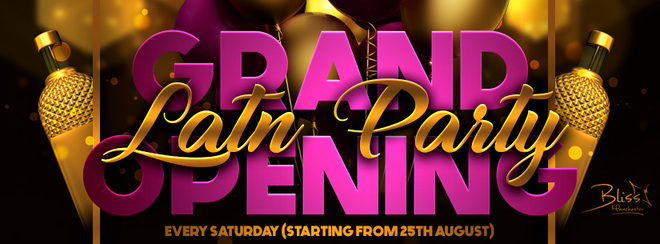 Latin Party Manchester – Every Saturday @ Club Bliss
