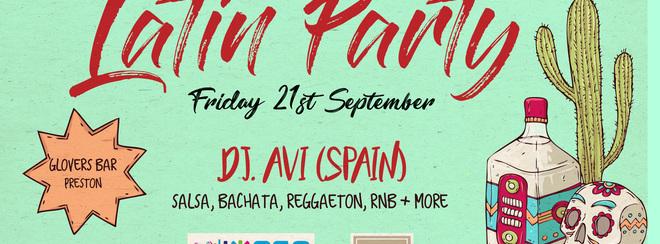 Latin Party Preston – Friday 21st September
