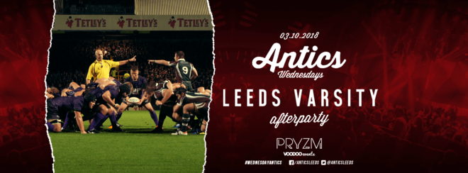 Official Antics Varsity afterparty at PRYZM