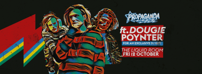 Dougie Poynter (Former McFly/ Ink) DJ Set at Propaganda Edinburgh