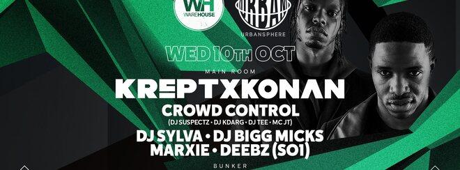 Krept & Konan • Wednesday 10th October