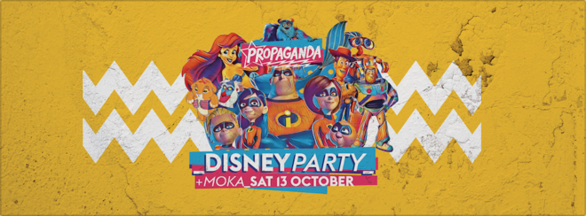 Propaganda Lincoln – Disney Party!