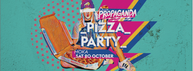 Propaganda Lincoln – Pizza Party!
