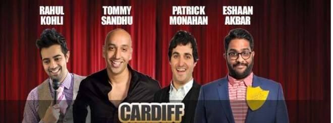 Desi Central Comedy Tour : Cardiff